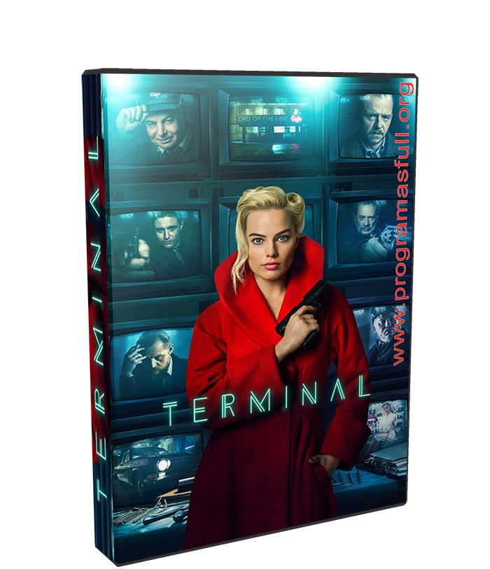 Terminal poster box cover