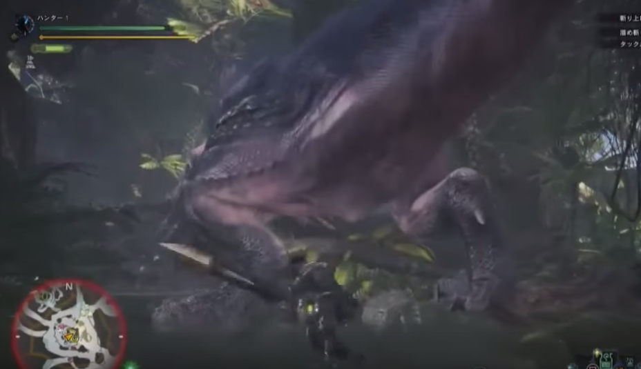 Monster Hunter World muestra 30 minutos de gameplay de su multijugador