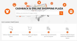Logo Con ''Qassa'' ricevi il rimborso (Cashback) sui tuoi acquisti online