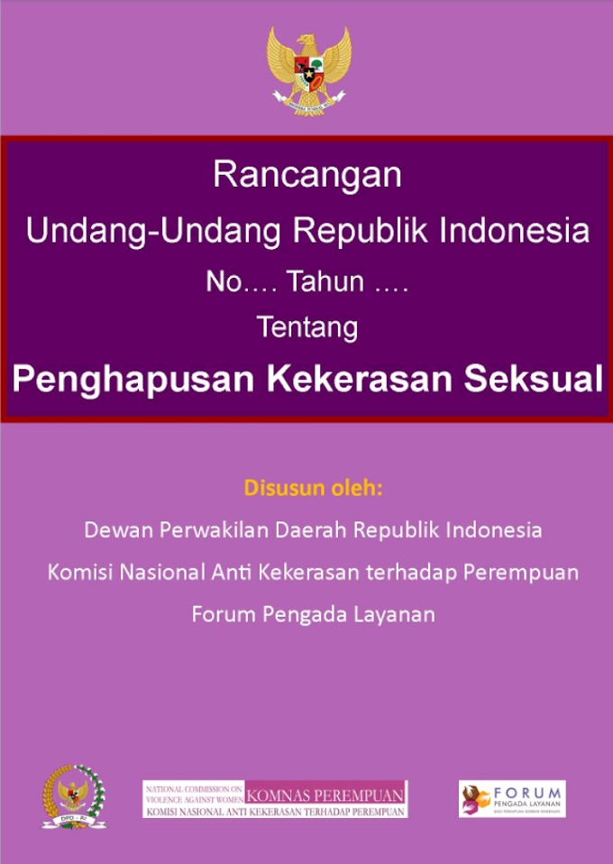 DPR RI Perlu Segera Bahas RUU Penghapusan Kekerasan Seksual