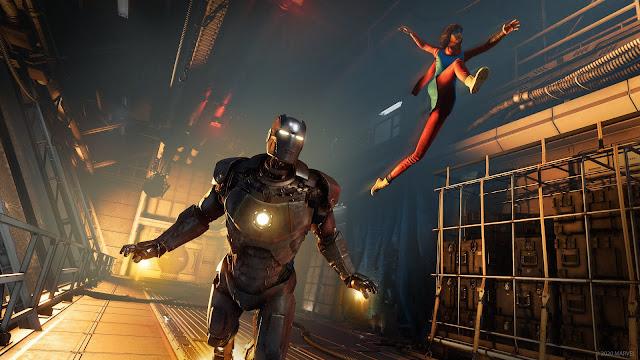 marvel's avengers war table news update PS5, online co-op gameplay, release date, ms marvel, iron man, hawkeye, easter eggs, teaser