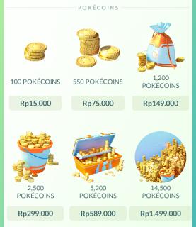 Cara Mudah Mendapatkan Coins Gratis Pokemon Go