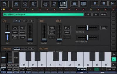 membuat musik elektronik di android