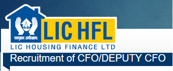 LIC Housing Finance,CFO/Deputy CFO,recruitment