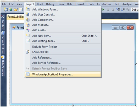 crystal report viewer not showing in toolbox visual studio 2010