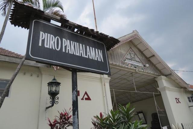 Mempelajari Potret Sejarah Jogja dari Pura Pakualaman