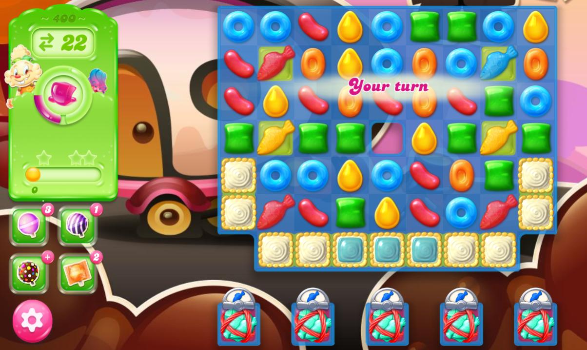 Candy Crush Jelly Saga 400