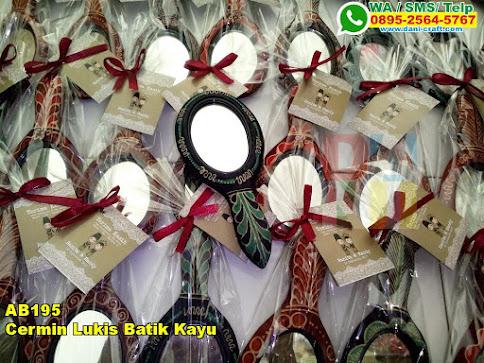 Toko Cermin Lukis Batik Kayu