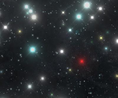 Un'altra immagine all'infrarosso delle stelle più vicine