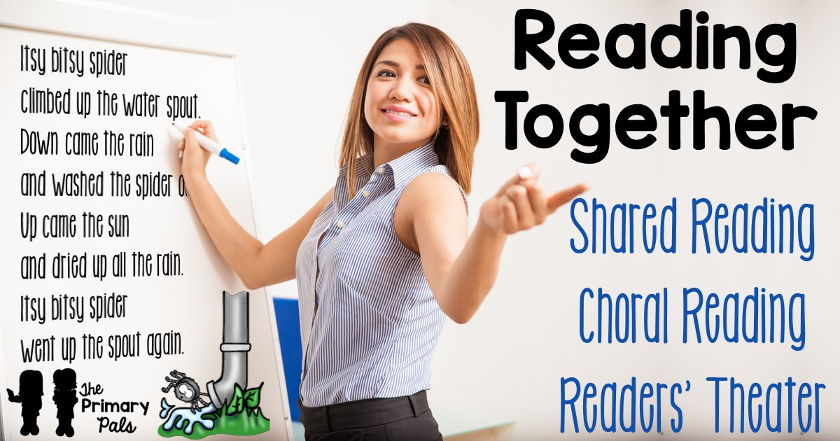 Reading in the classroom can be seen in many forms: interactive read alouds, shared or performance reading, guided reading, or independent reading. Shared and performance reading is similar to interactive read alouds because you are engaging the students as you read, but it takes things beyond listening and discussing. Shared and performance reading involve students.