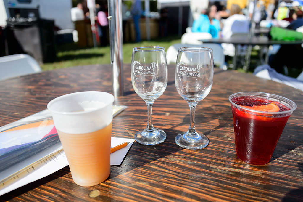 Beer and Wine Tasting at Carolina BalloonFest