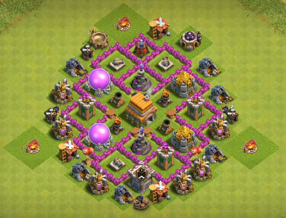 12+ Best Town Hall 6 Defense/Farming Base 2019