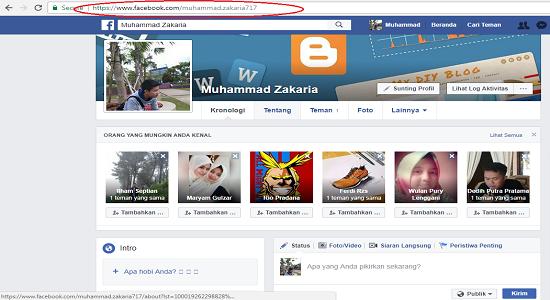Cara membuat nama pengguna di Facebook