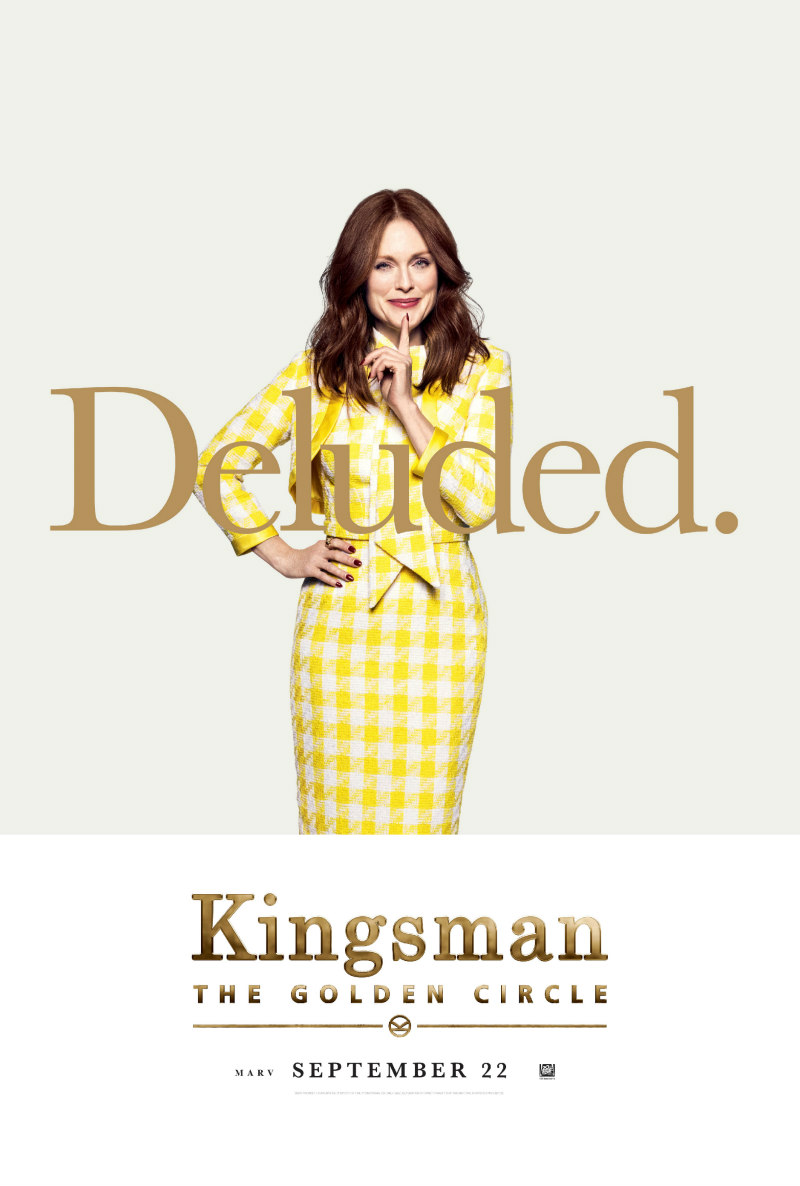 kingsman the golden circle julianne moore