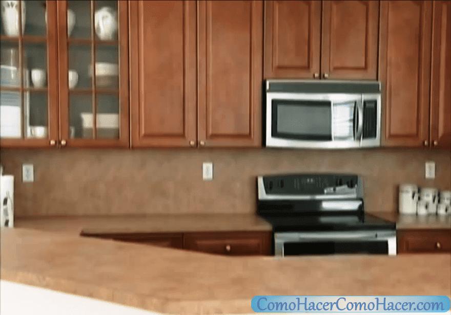 C mo hacer una cocina remodelaci n de la encimera web for Como hacer muebles para cocina