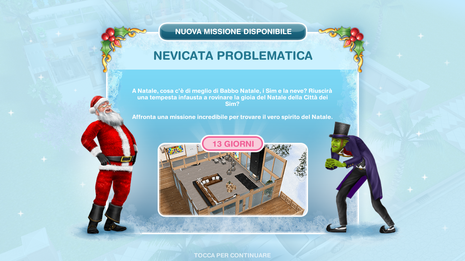 Addobbi Natalizi The Sims 3.The Sims Freeplay It Nevicata Problematica