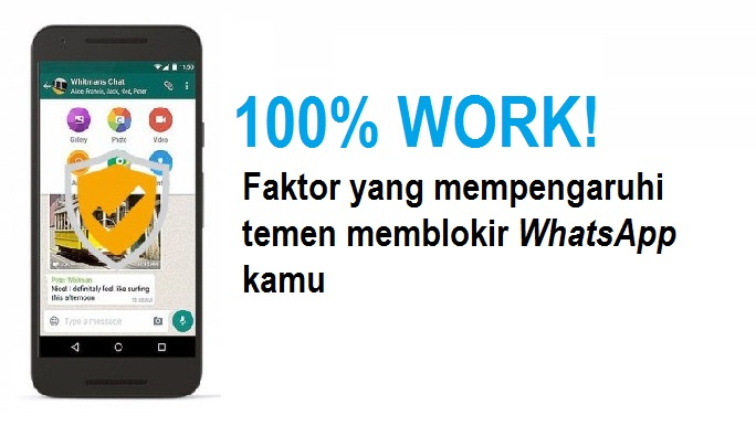 100% WORK! 3 langkah ampuh membuka blokiran whatsapp dari teman