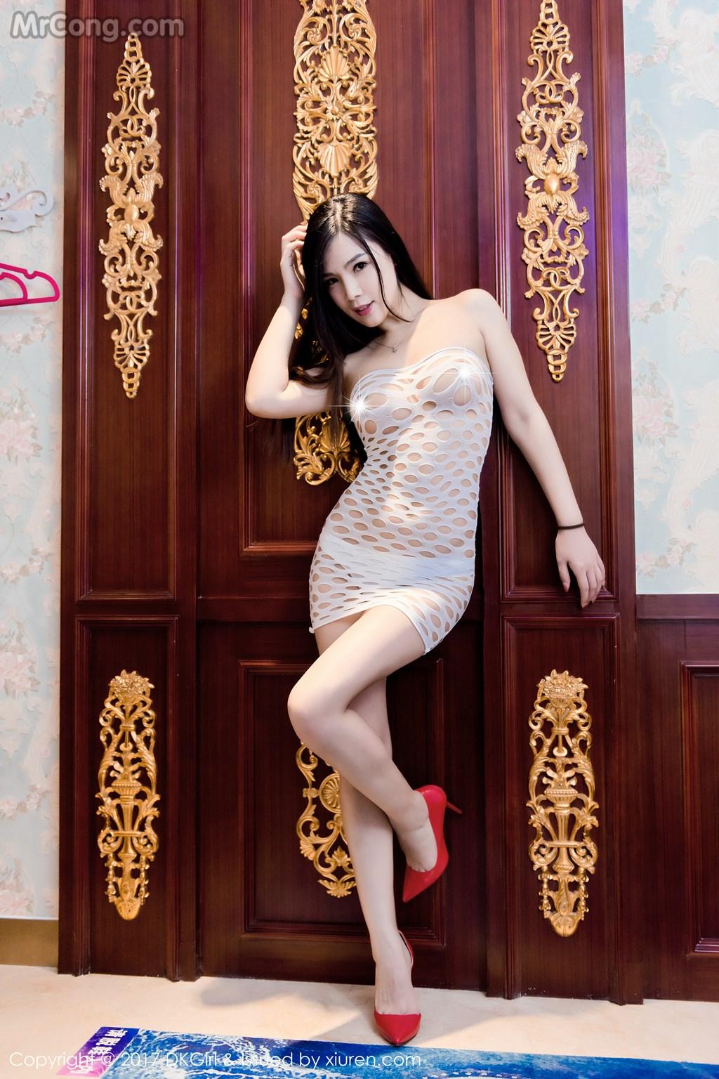 Người mẫu Ding Xiaonan với album ảnh sexy và quyến rũ 1