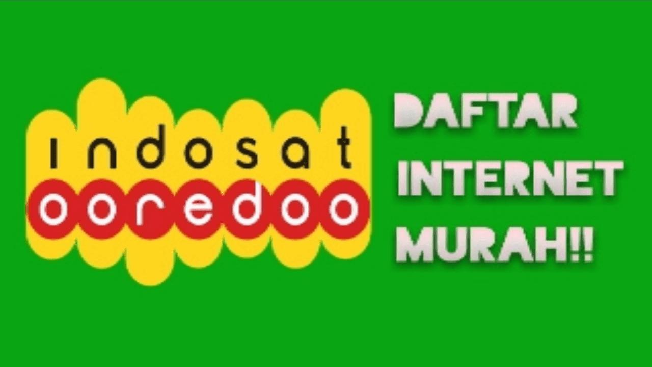 Paket internet murah indosat ooredoo