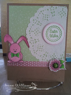 pretty pink posh, easter, bunnies, verve stamps