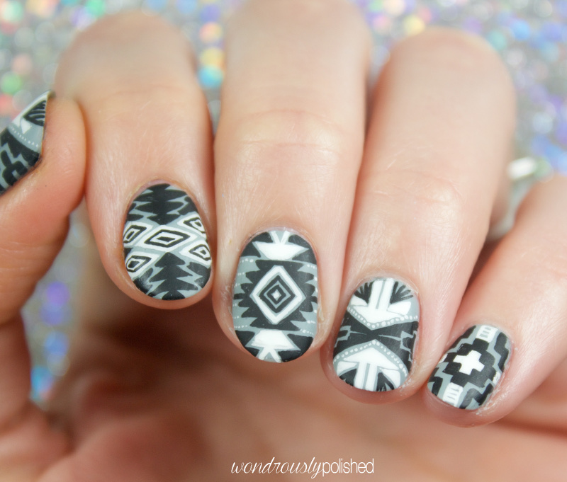 Wondrously Polished Paint All The Nails Presents Monochrome