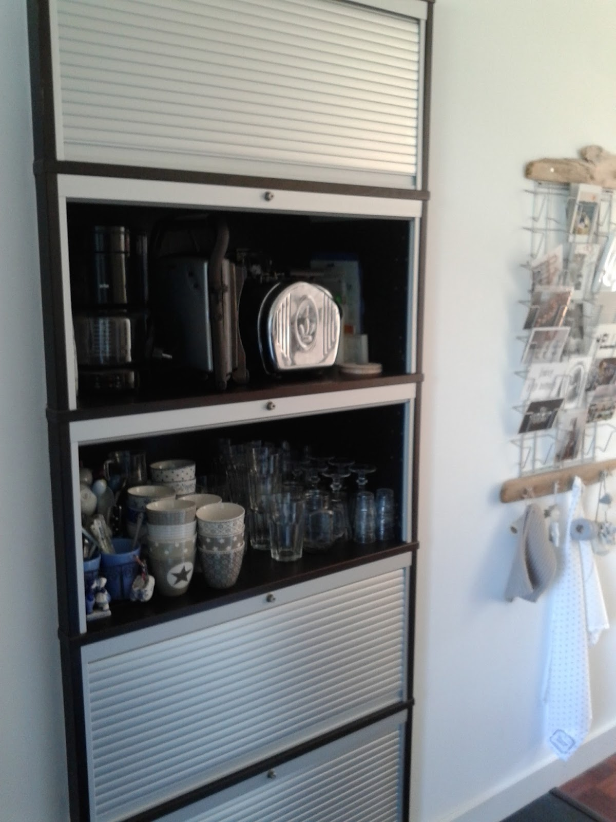 Ikea Keuken Eetbar Keukenkast Met Rolluik Ikea Top Pax Wardrobe White Stained Oak