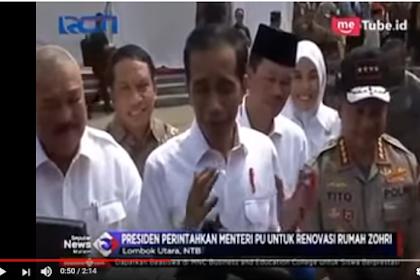 Ini Alasan Keluarga Lalu M. Zohri Tolak Bantuan Renovasi dari Jokowi