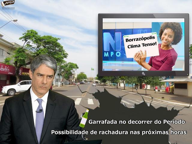 CLIMA PESADO EM BORRAZÓPOLIS - CÂMARA DE VEREADORES