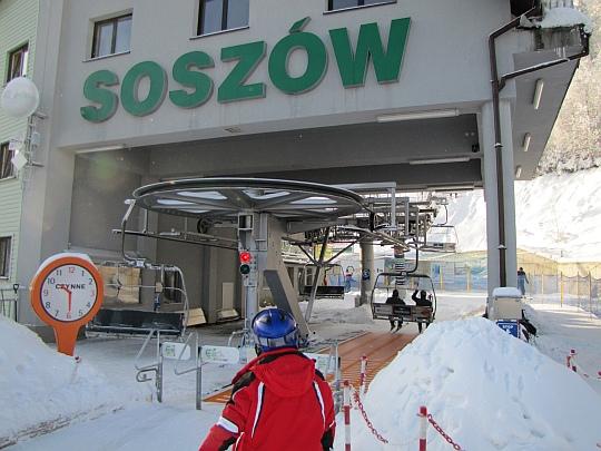 """Stacja narciarska """"Soszów"""" w Wiśle."""