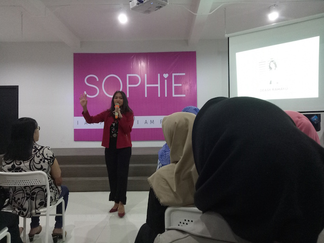 Big Dream Never Give Up Bersama Sophie Paris Yanikmatilah Saja