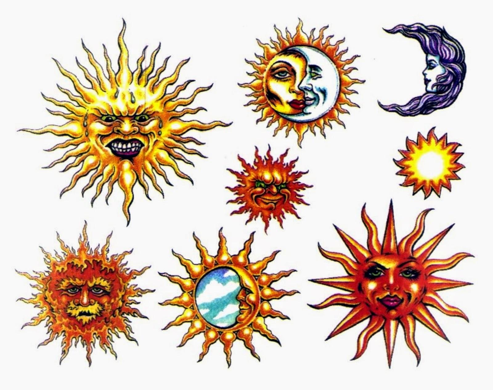 Sun Design Images Lunas, soles y ...