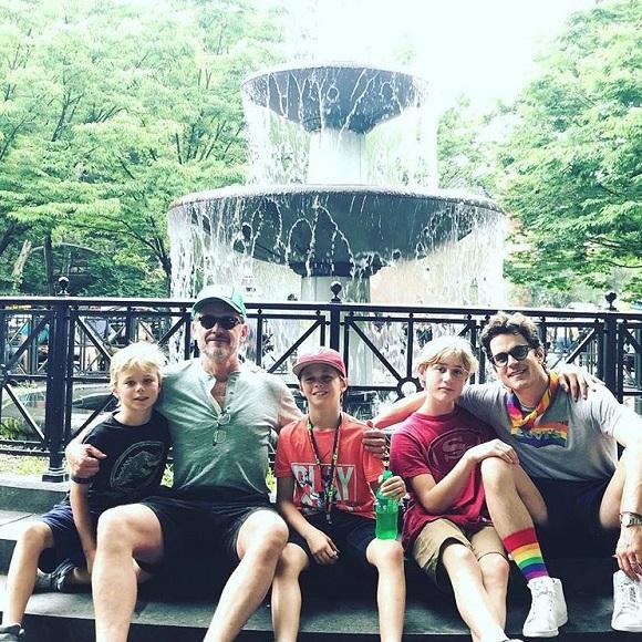 Vjbrendan Com Happy Gay Pride From Matt Bomer And His Family