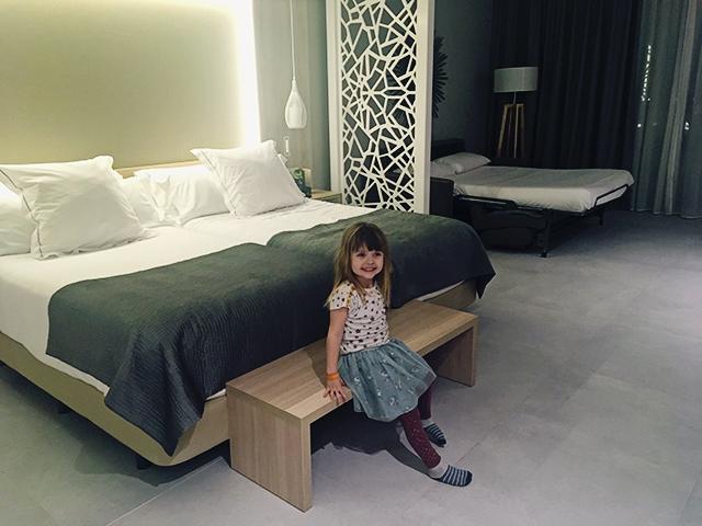 Fantasia Bahia Principe Tenerife junior suite bedden