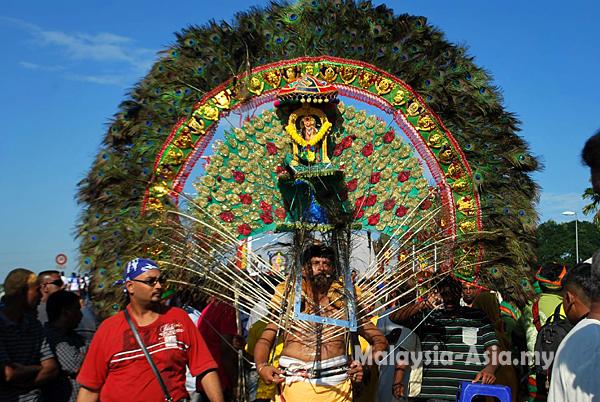Videos of Thaipusam