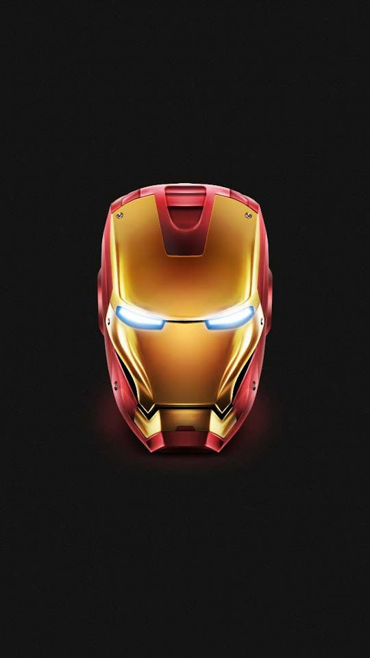 Iron Man Helmet  Galaxy Note HD Wallpaper