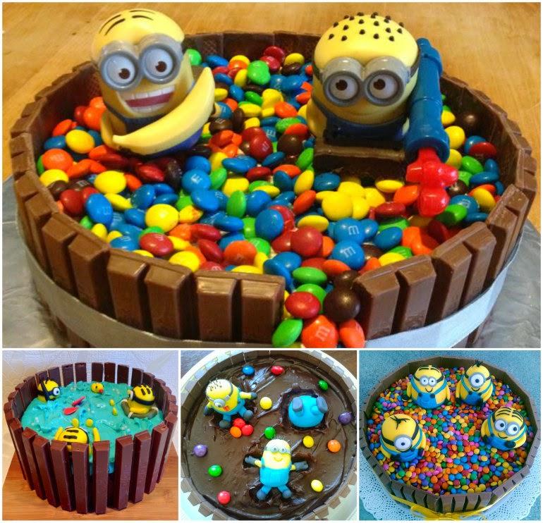 Minion Cake Recipe Tutorial