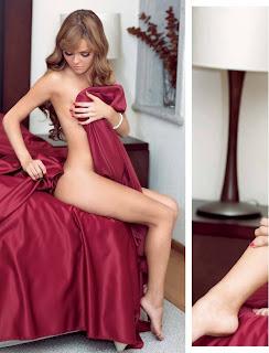 Fotos Mariluz Bermudez en Revista H para Hombres Agosto 2013