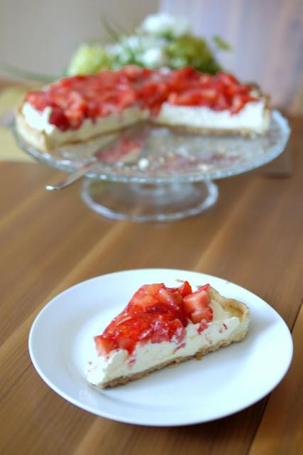 Erdbeer-Vanille-Tarte | Backen | Kuchen | Erdbeeren