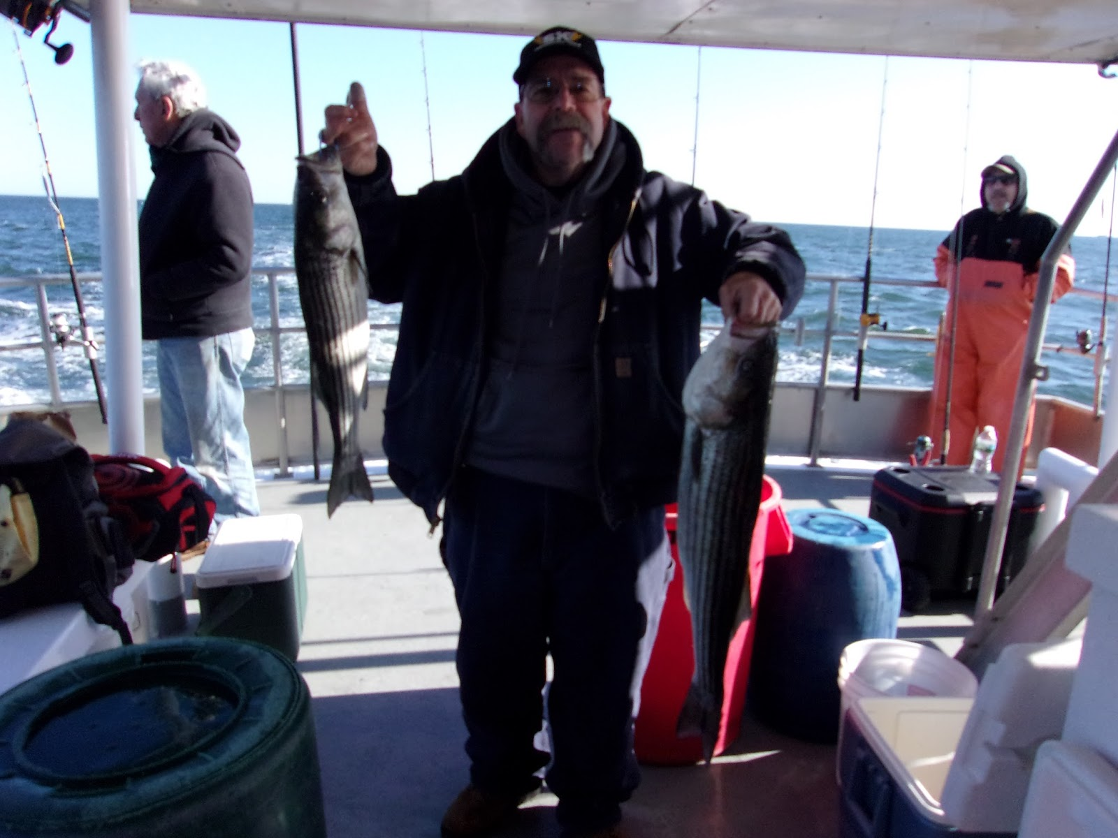 Nj salt fish 2017 11 29 seahunter atlantic highlands for Miss belmar fishing report