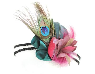 OI 1718 - Coleccion Granate verde 1 Banda pavo real