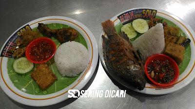 Enak! Warung Ayam Bakar Wong Solo Alun-alun Batu