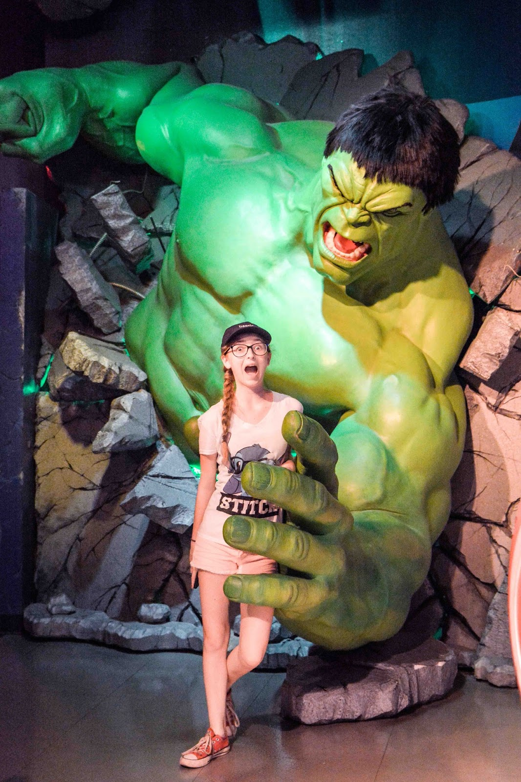 Madame Tussaud's Hulk