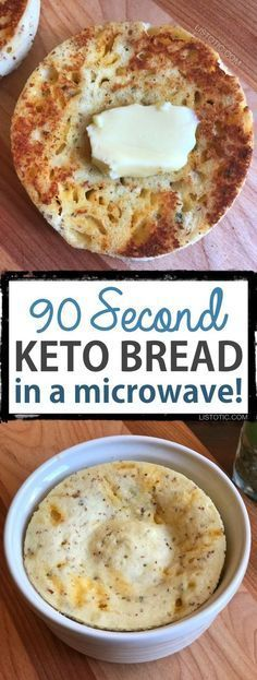 Easy Mìcrowave Low Carb Bread