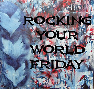 Artwork by Virginia Hoskings of Celtic House blog - Founder of Rocking Your World Friday