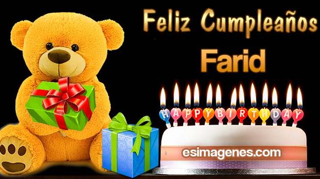 Feliz Cumpleaños Farid