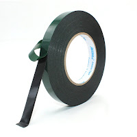 Black Double Sided Foam Tape