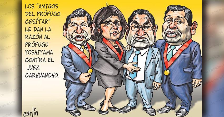 Carlincaturas Jueves 17 Enero 2019 - La República