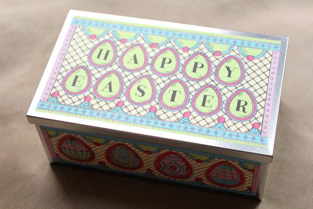 Biscuiteers Easter Egg Biscuit Tin   London foodie blog