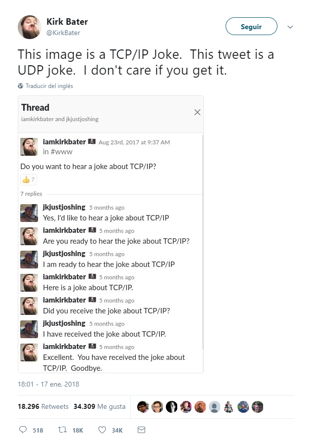 UDP y TCP