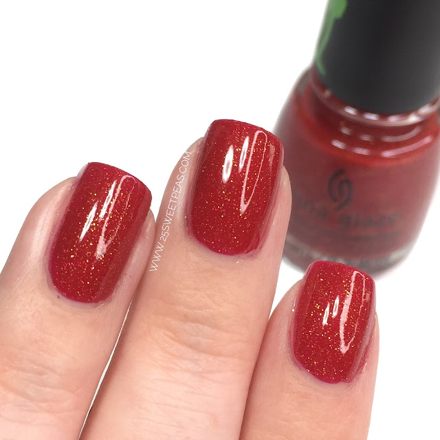 China Glaze Ho! Ho! No.
